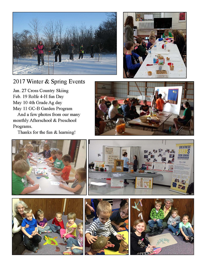 2017 Winter & Spring Events