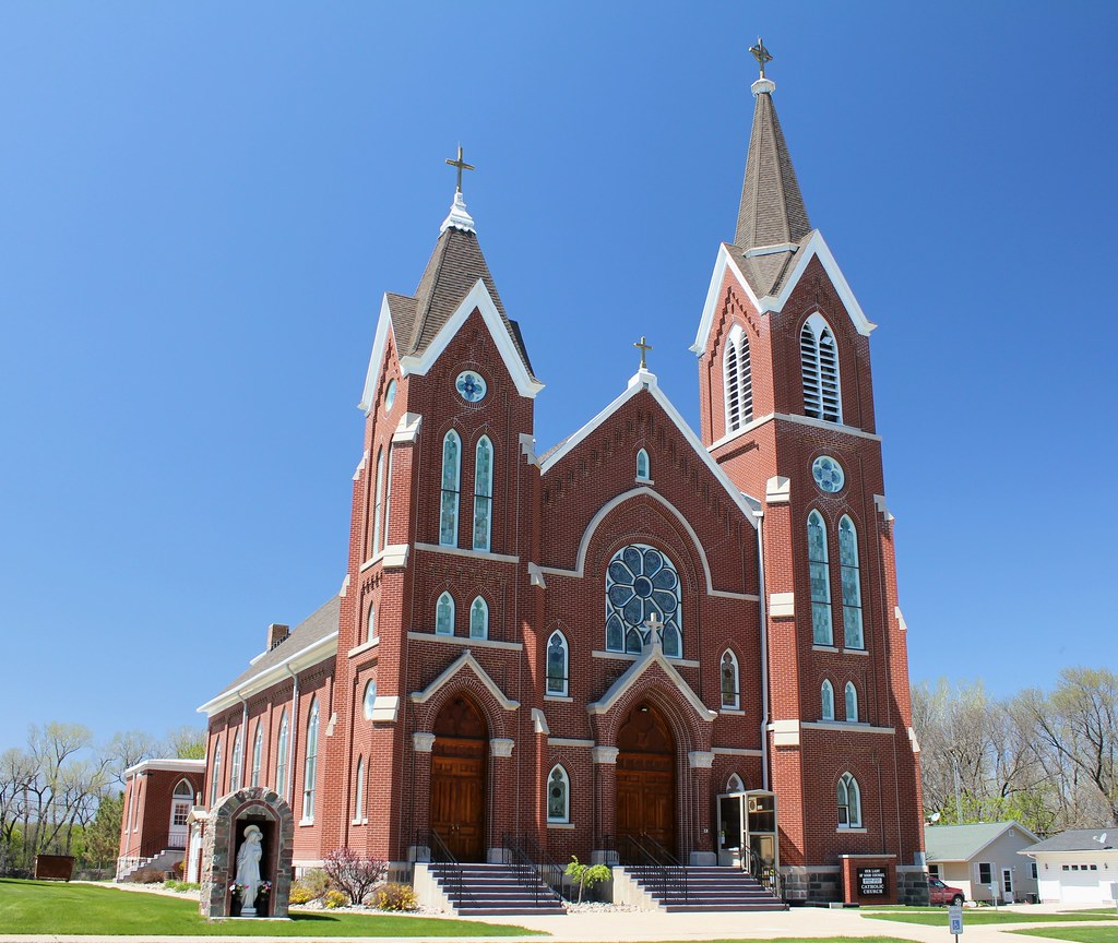 Our Lady of Good Counsel Church in Fonda, Iowa