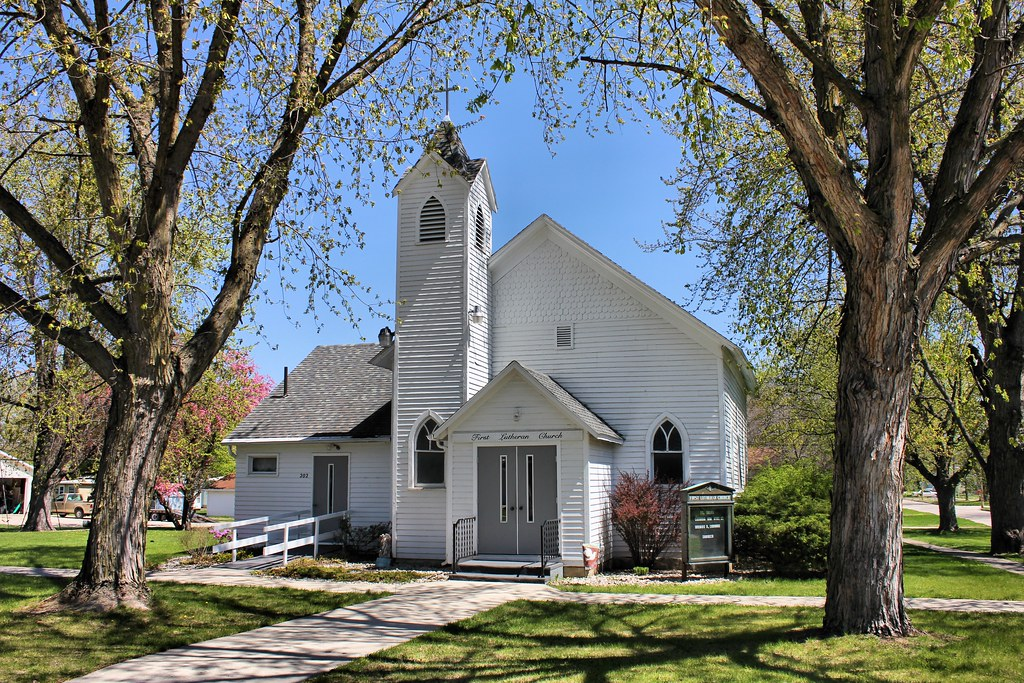 First Lutheran Church in Fonda, Iowa
