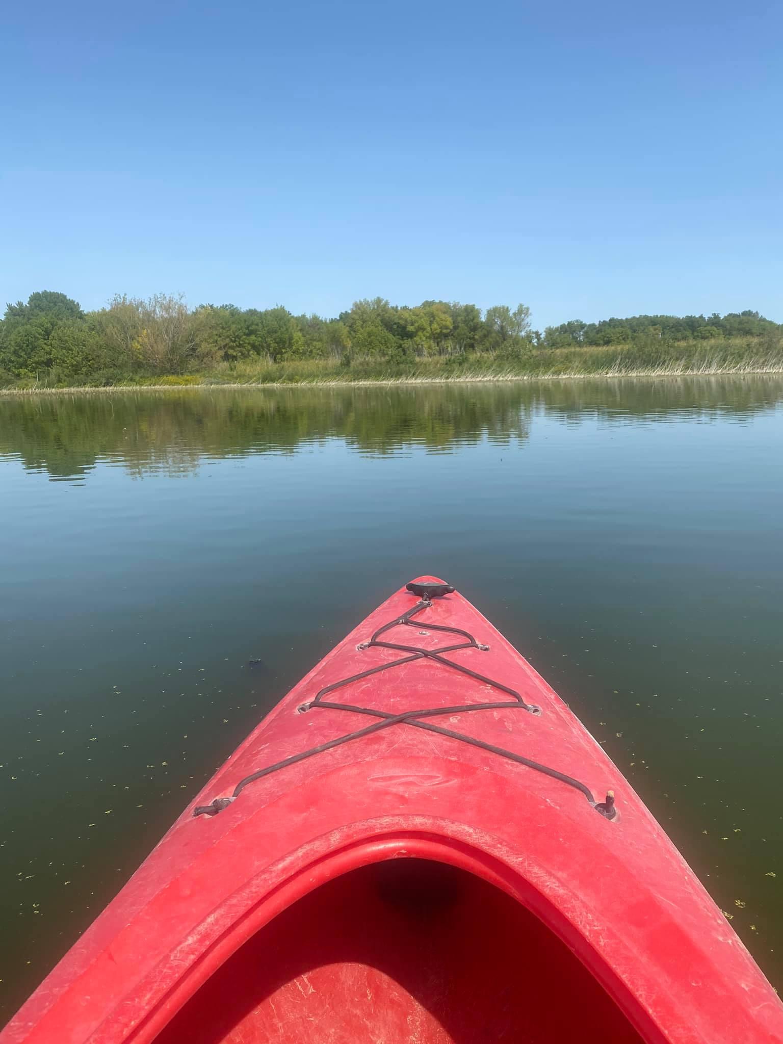 kayak on lake 2